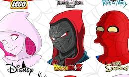 Un artiste montre à quoi ressembleraient les personnages de la pop culture à la façon de différents dessins animés
