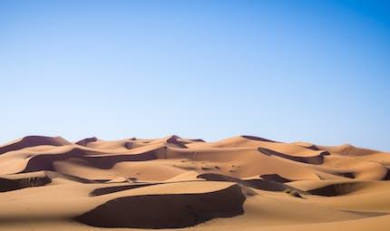 Le désert, une région du monde où l'eau et la vie sont rares