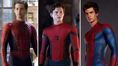 spider-man 3 acteurs maguire garfield et holland