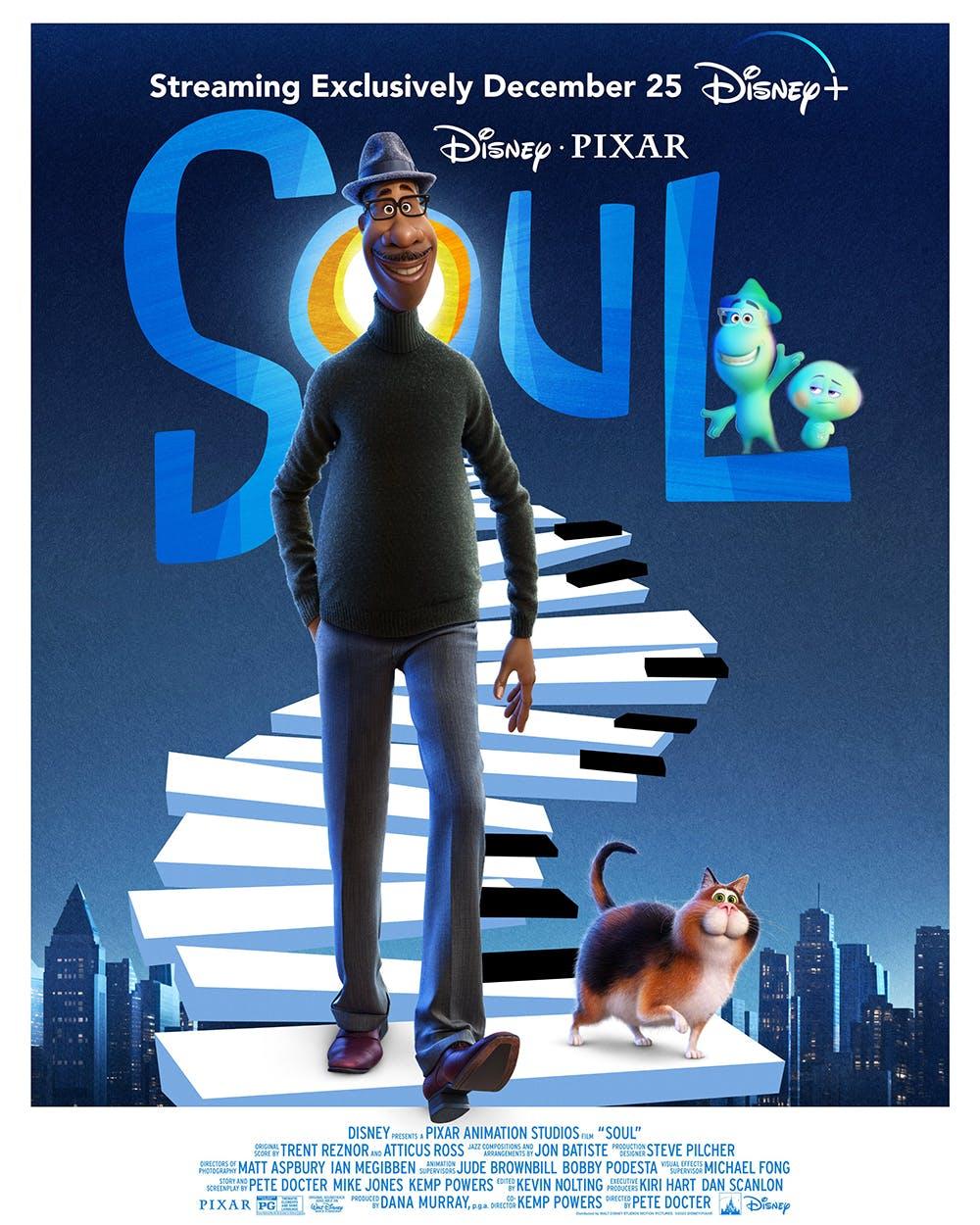 Soul, le prochain film des studios Pixar, ne sortira pas au cinéma mais sur  Disney+ | MOMES.net