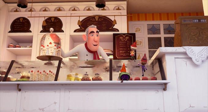 Extrait du film Les Elfkins : Opération pâtisserie