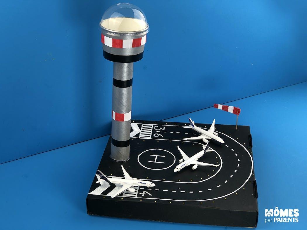 DIY Aéroport pour avions miniatures terminé