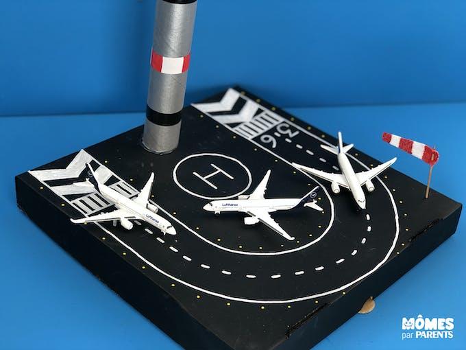 DIY Aéroport pour avions miniatures résultat