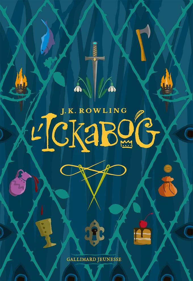 Ickabog nouveau roman de J.K. Rowling couverture