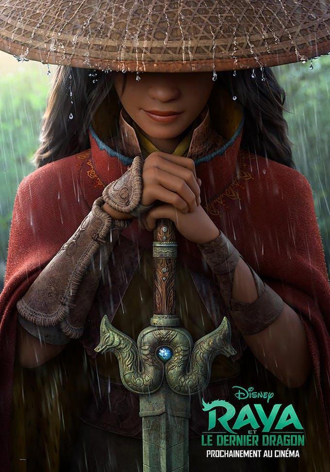 affiche film Disney Raya et le dernier dragon