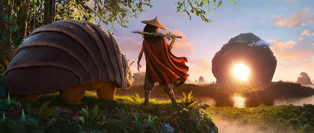 extrait film Disney Raya et le dernier dragon