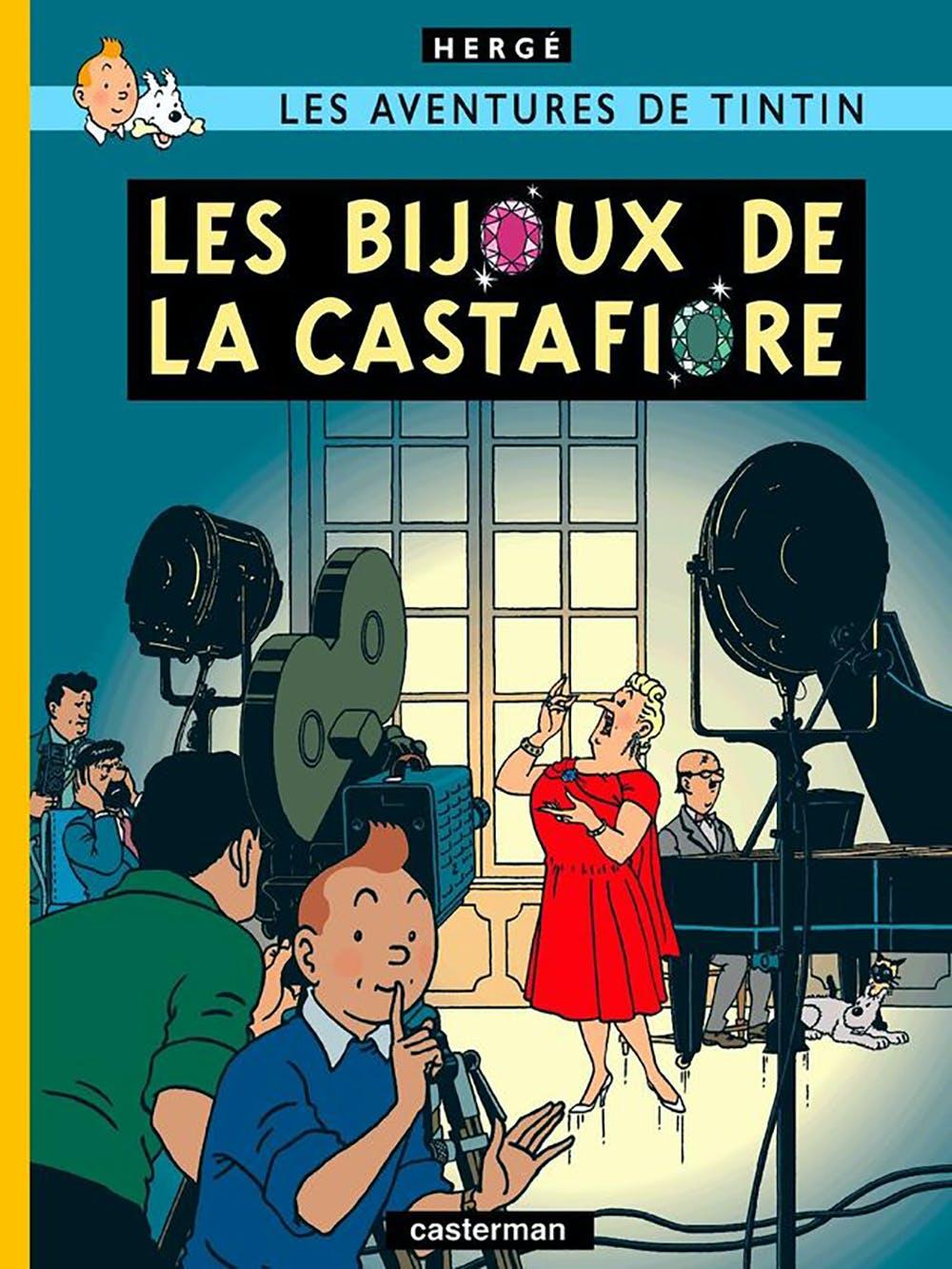 couverture BD Les aventures deTintin : les bijoux de la castafiore
