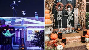 Halloween : des décorations extérieures complètement folles !