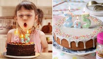 Grâce à cette bougie virgule, on peut fêter les demi-anniversaires !