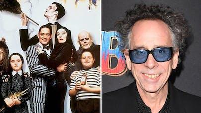 La Famille Addams Tim Burton