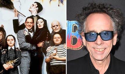 Tim Burton va adapter en série La Famille Addams