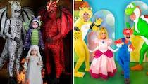 Cette famille est la championne des déguisements d'Halloween !