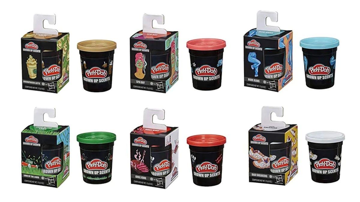 gamme de pâtes à modeler Play-Doh odeurs pour adultes