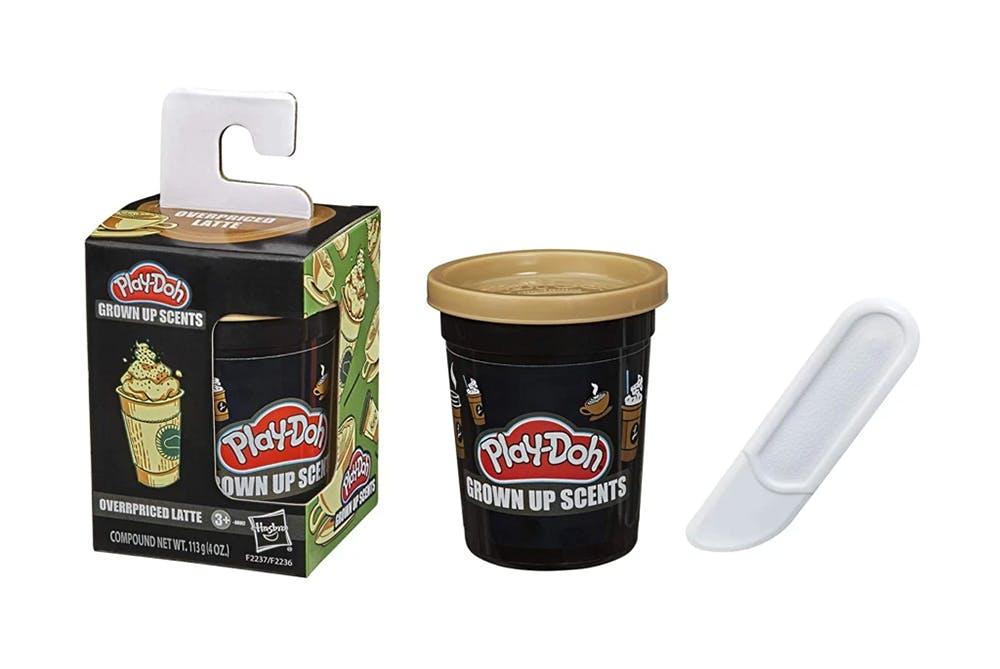 gamme de pâtes à modeler Play-Doh odeur pour adultes café