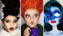 Coronavirus : cette année, une maman a décidé d'offrir à ses filles 31 jours de maquillages d'Halloween !