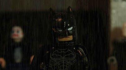 extrait bande annonce version Lego du film The Batman