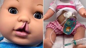 Cette maman fabrique des poupées pour enfants handicapés ou ayant des problèmes médicaux
