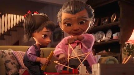 """Disney dévoile un émouvant court-métrage de Noël """"La magie d'être ensemble"""""""