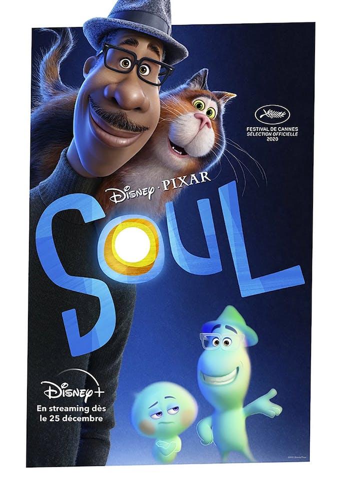 film Soul de Pixar affiche française Disney+