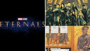 Eternals : des vignettes autocollantes à collectionner E. Leclerc dévoilent par erreur les costumes des nouveaux héros Marvel !