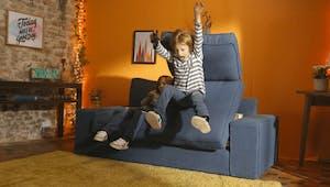 Hasbro invente le premier canapé qui lutte contre la sédentarité des enfants