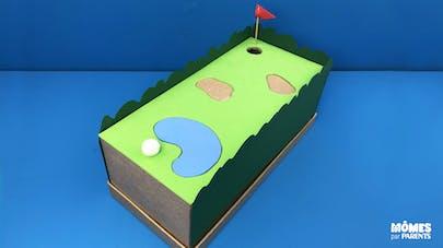 Jeu de golf miniature