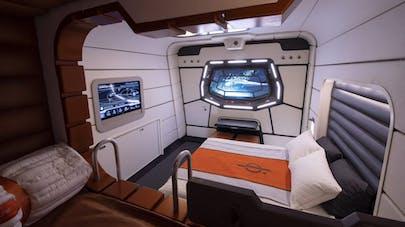 chambre hôtel Star Wars: Galactic Starcruiser