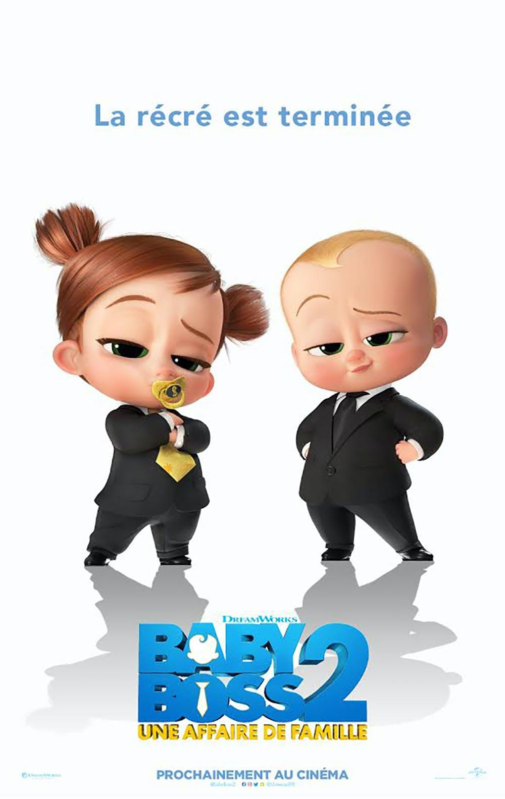 Baby Boss 2 : une affaire de famille affiche film
