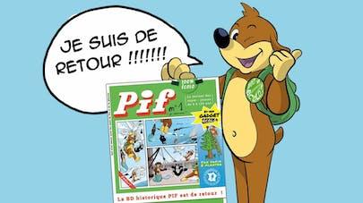 Pif Magazine le retour