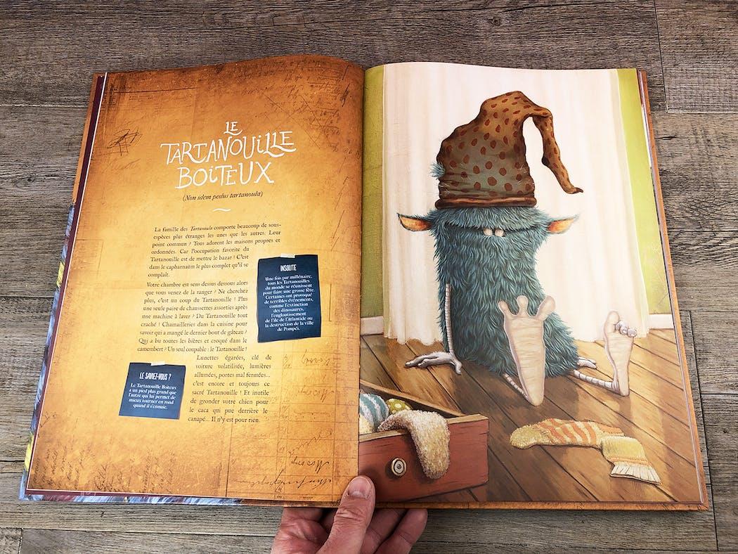 L'incroyable Catalogue des Monstres extrait 2