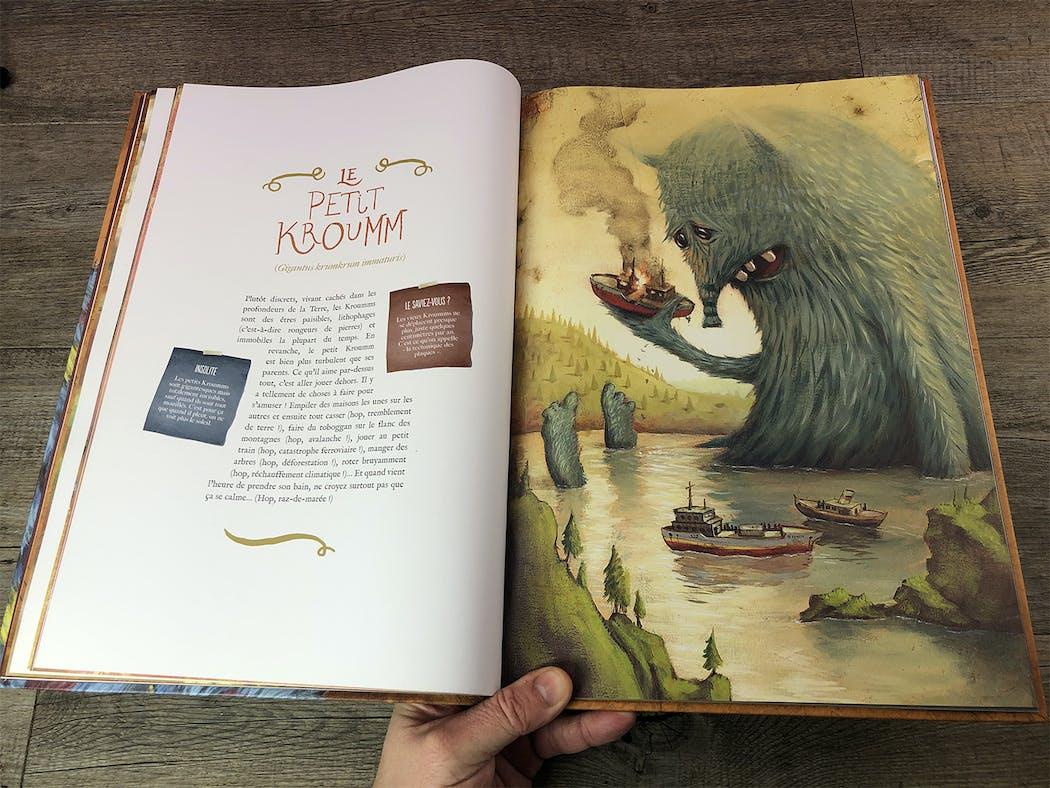 L'incroyable Catalogue des Monstres extrait 1