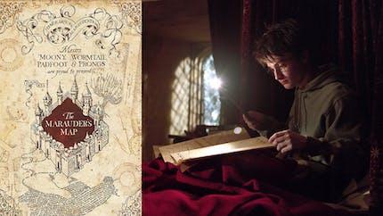 Harry Potter : il crée la Carte du Maraudeur pour de vrai !