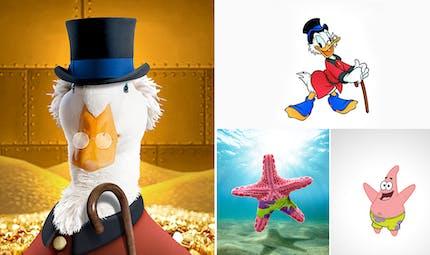 Cet artiste a imaginé à quoi pourraient bien ressembler les personnages de nos dessins animés dans le monde réel