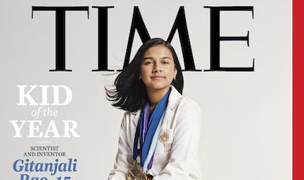 Le magazine TIME nomme Gitanjali Rao, scientifique et inventrice de 15 ans, son tout premier enfant de l'année !