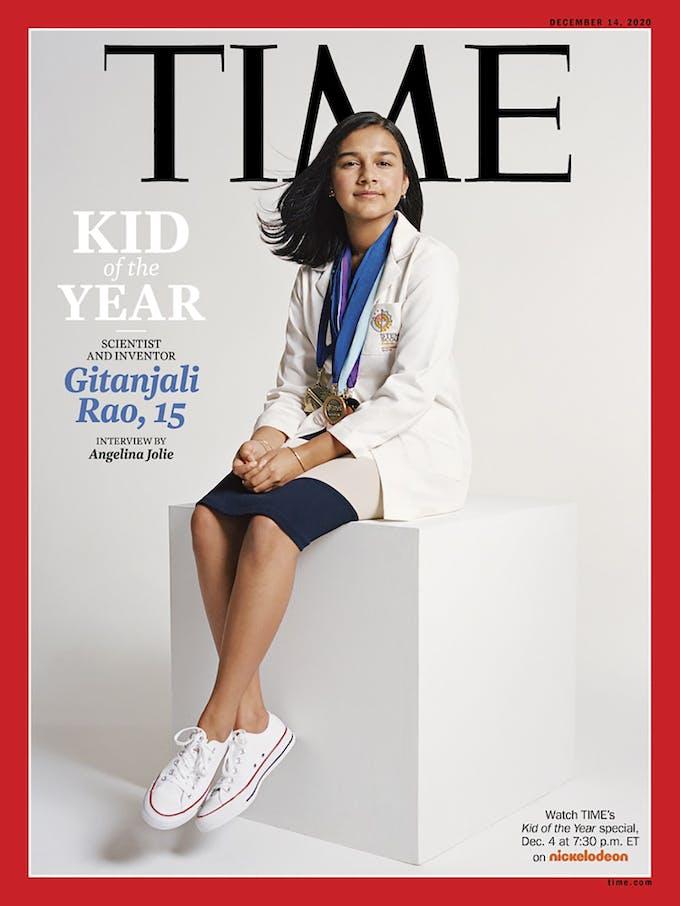 Time Gitanjali Rao enfant de l'année