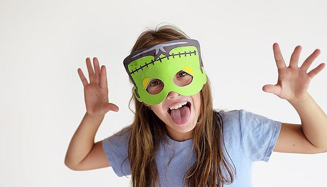 masque Frankenstein