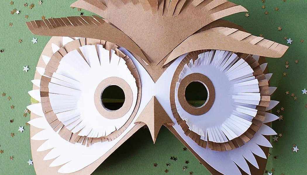 masque de hibou