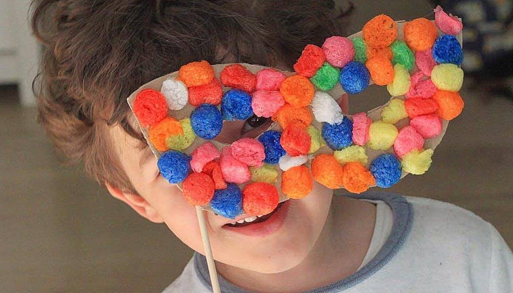 masque en Playmaïs