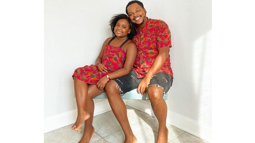 Un duo douceur Michael Gardner et sa fille Ava