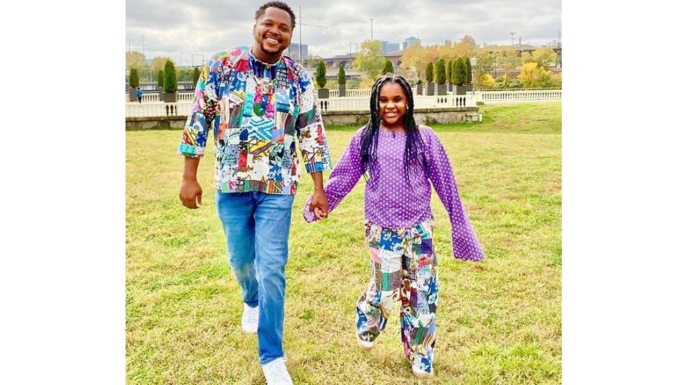 Un duo patchwork Michael Gardner et sa fille Ava