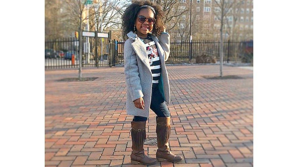 Une tenue casual pour sa fille Ava par Michael Gardner