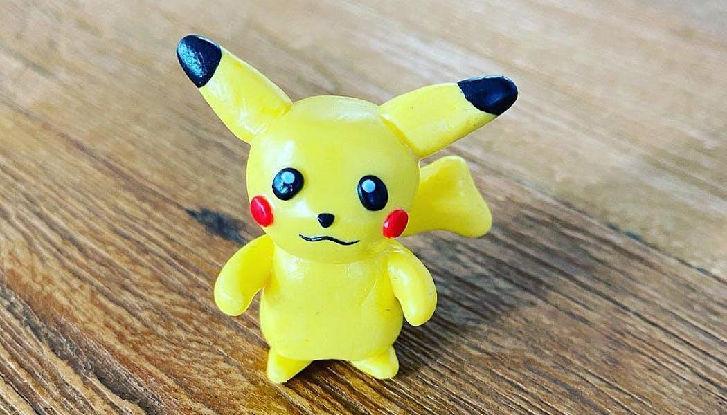 Pikachu en Fimo