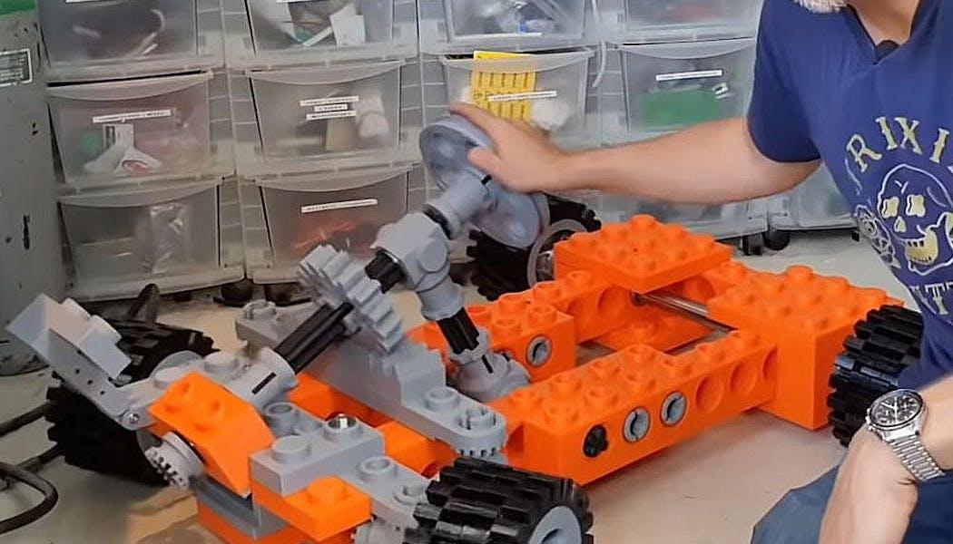 Un kart en Lego