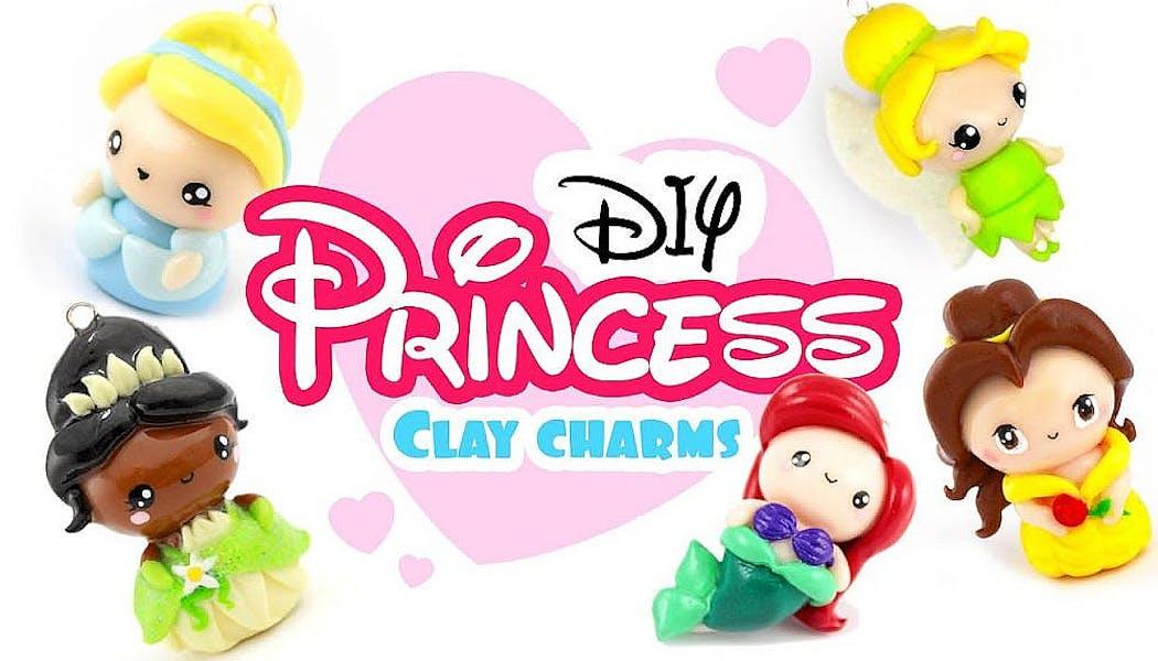 princesse Disney en Fimo