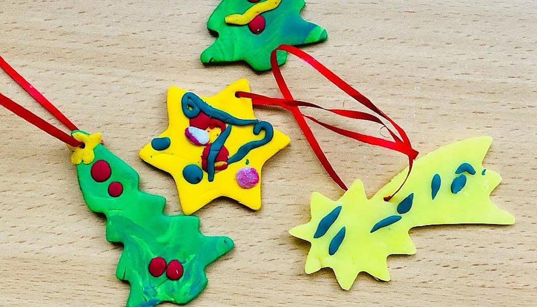 décoration de Noel en fimo