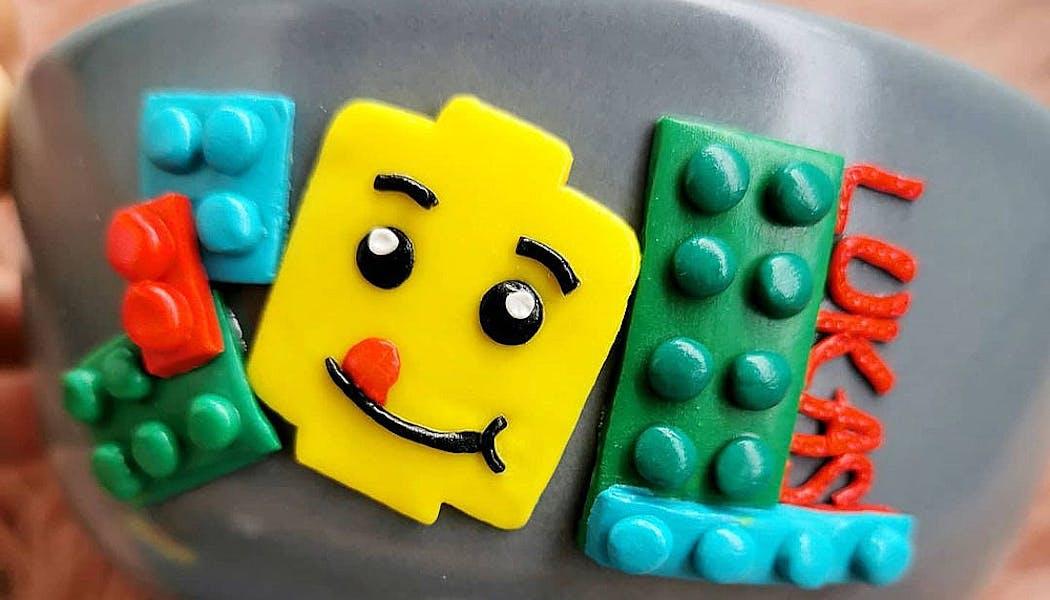 bol personnalisé Lego