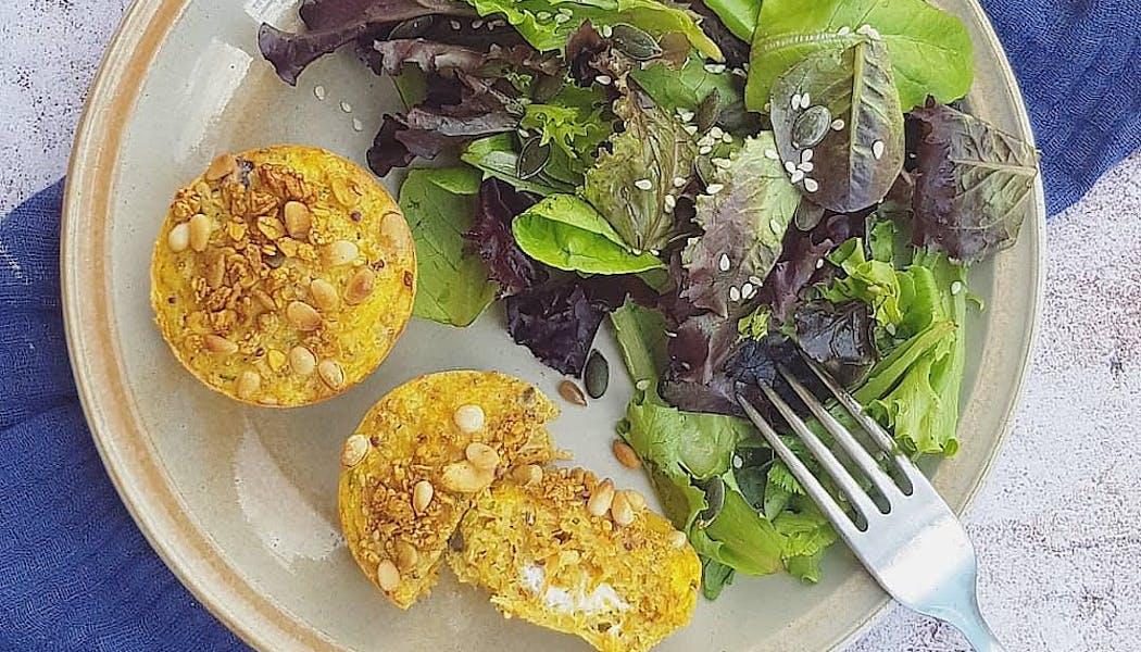 Muffins carottes et quinoa