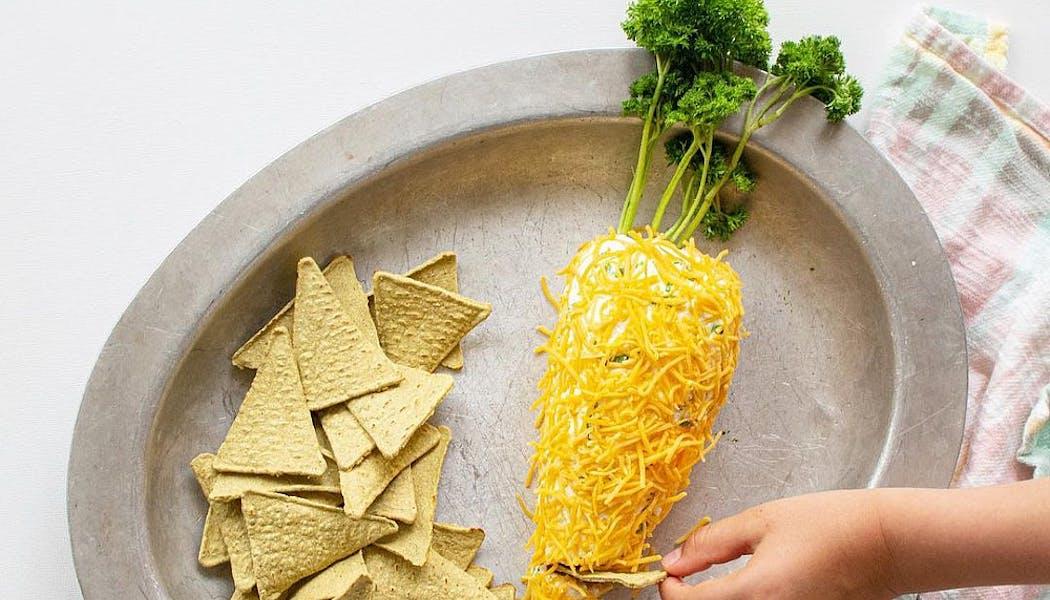 Carotte de Pâques au fromage