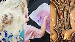 Top 15 des bacs sensoriels pour les enfants à refaire chez vous