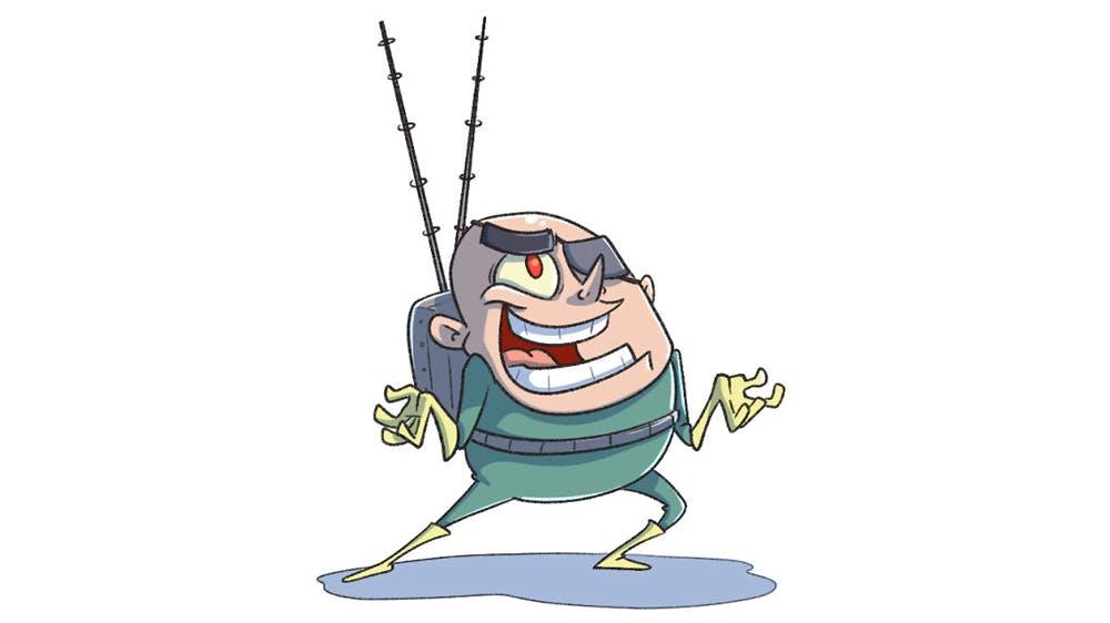 Personnages de Bob l'Éponge dessinés en version humaine Ryan Altounji